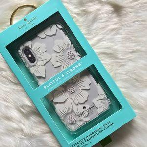 Kate Spade Hollyhock Floral iPhone X (10) Case